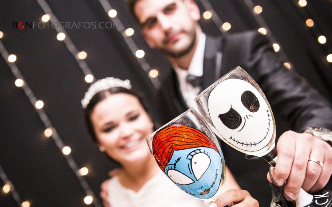 Bodas inspiradas en Halloween – Ainara & Juanjo
