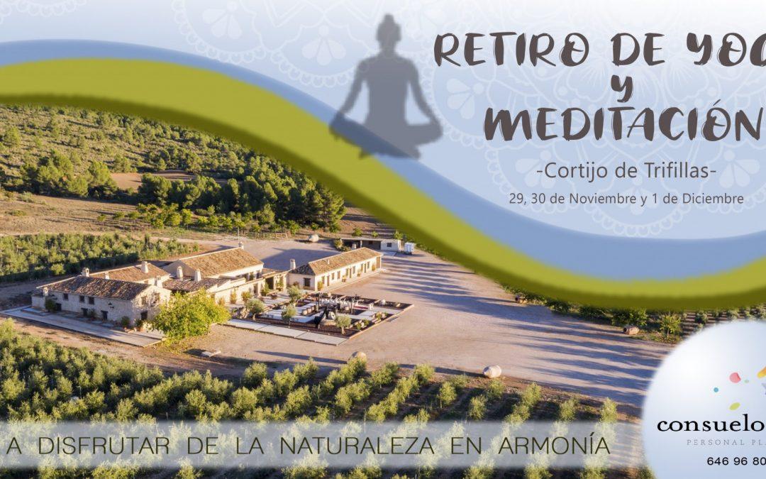 II Retiro de Yoga y Meditación en Cortijo Trifillas